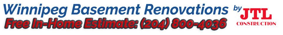 Basement Renovations Winnipeg Logo